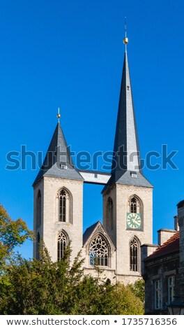 martini · église · Allemagne · très · tôt · moyen · Âge · première - photo stock © borisb17