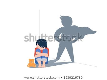 Autismo terapia espectro criança desenvolvimento Foto stock © RAStudio