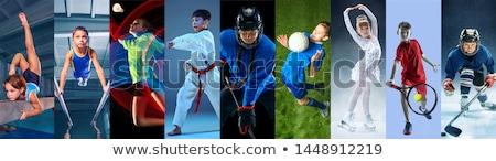 Sport childrens competitions Stock photo © jossdiim