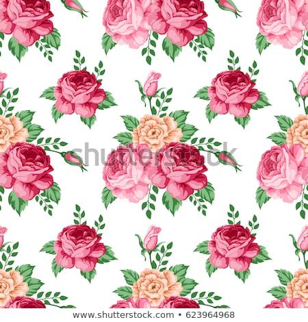 Vintage buquê rosas elegante floral Foto stock © Anneleven
