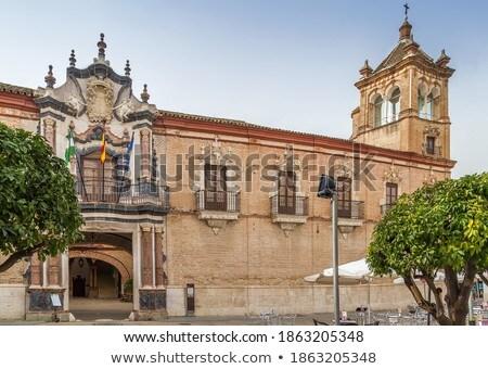 Испания дворец один фундаментальный гражданский архитектура Сток-фото © borisb17