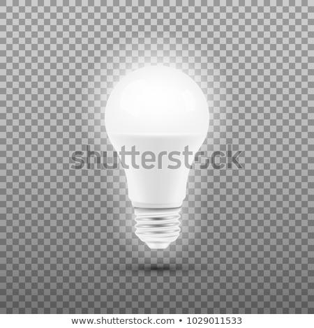 Energia salvare elettrici luce lampada Foto d'archivio © pikepicture