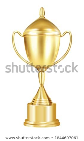 Award in Shape of Cup with Handle on Pedestal Stock photo © robuart