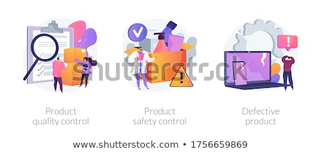 Defective product abstract concept vector illustration. Stock photo © RAStudio