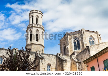 Cathedral in Figueres, Spain Stock photo © vladacanon