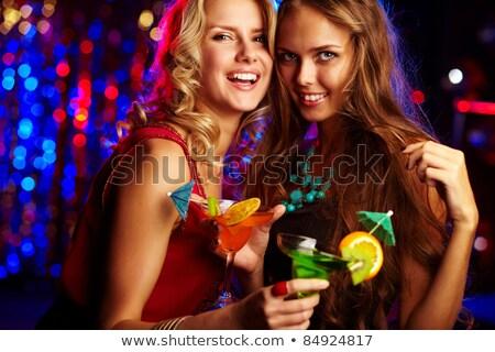 interacción · fiesta · retrato · feliz · a · la · gente · amor · sexy - foto stock © get4net