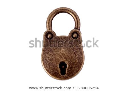 old lock stock photo © stocksnapper