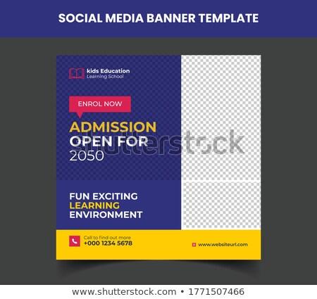 educación · anuncio · falso · periódico · negocios - foto stock © devon