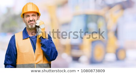 questioning construction worker stock photo © photography33