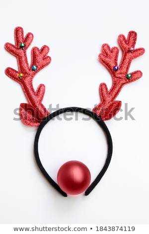 Red nose reindeer Stock photo © RTimages