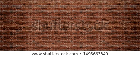 red structural painted wallpaper on the wall Stock photo © tarczas