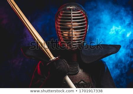 Katana - Japanese sword isolated over white background Stock photo © shutswis
