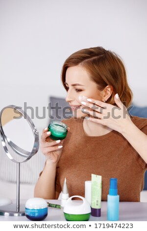 Make up touche bottle isolated Stock photo © ozaiachin