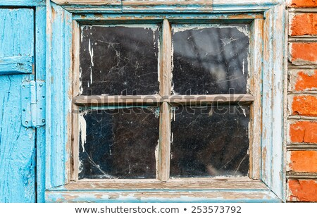 Old shed window Stock photo © stevanovicigor