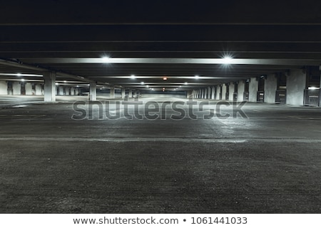 underground empty parking Stock photo © MiroNovak