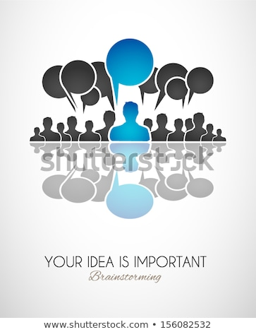 worldwide communication and social media concept art stock photo © davidarts