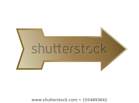 abstract artistic golden cursor icon stock photo © pathakdesigner