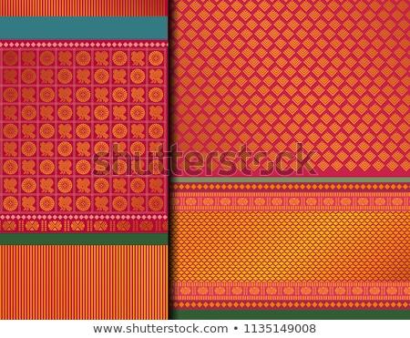 индийской ткань подробность цветы каменные розовый Сток-фото © Sarkao