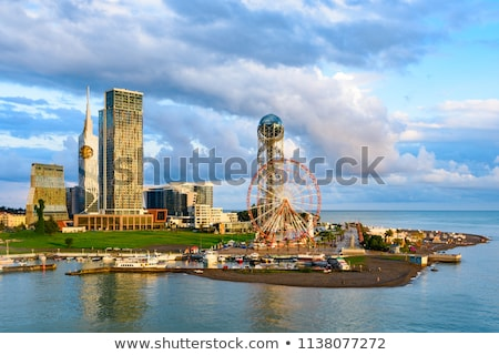 Batumi city in Georgia Stock photo © joyr