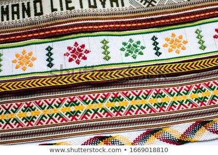 National band weave Stock photo © Makse