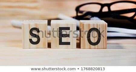 organizar · bloques · organización · gestión - foto stock © marinini