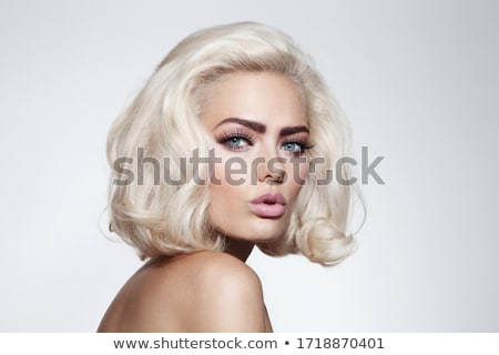 Stock fotó: Model With Fancy Eyelashes