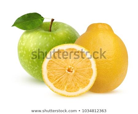 apples and lemons stock photo © elxeneize