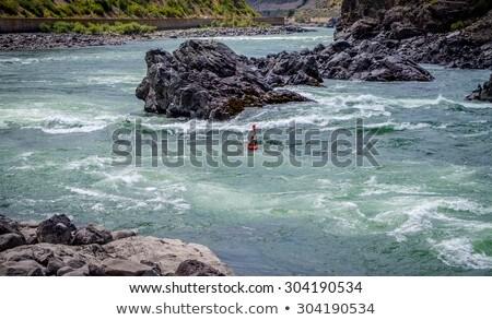 каньон узкий реке Сток-фото © hpbfotos