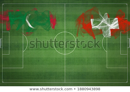 Switzerland and Maldives Flags Stock photo © Istanbul2009