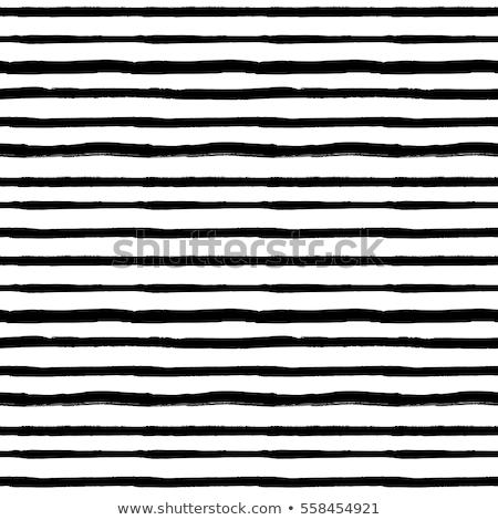 Vector Seamless Black and White Hand Drawn Stripes Pattern Stock photo © CreatorsClub