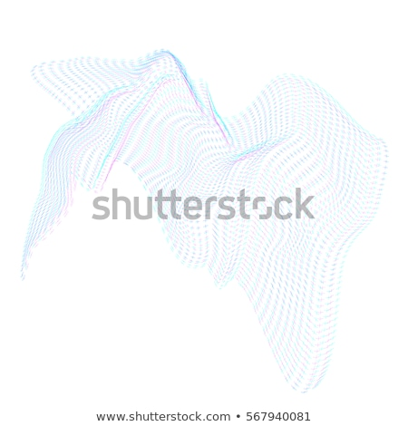 oppervlak · vorm · vector · berg · golven · zwarte - stockfoto © trikona