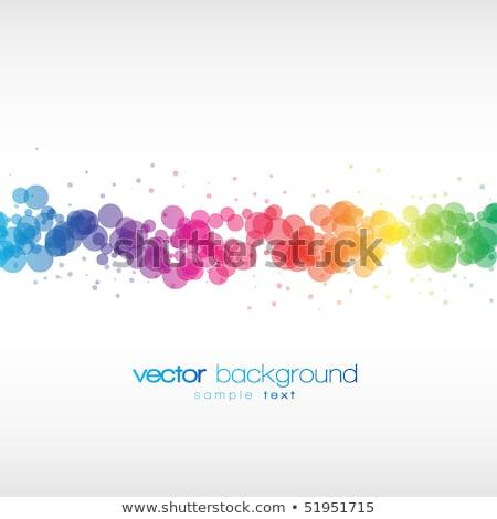 美しい 抽象的な 水色 行 ライト ストックフォト © Tefi