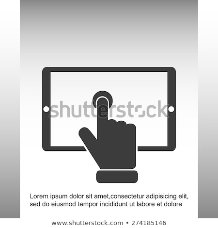 Composite vector buttons isolated on white background. Stock photo © tuulijumala
