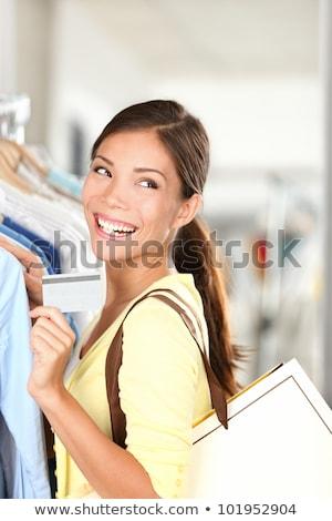 Chinese ethnic clothing woman money Stock photo © toyotoyo