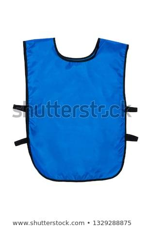 Jaqueta azul colete cara homens terno Foto stock © toyotoyo