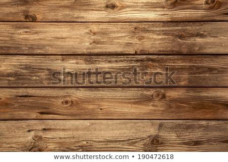 Rústico madera pintado signo edad capeado Foto stock © Lightsource