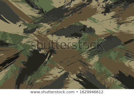 brown painted textured abstract background with brush strokes in gray and black shades stock photo © ivo_13