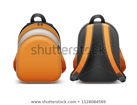 Back to School Bags of Pupils Vector Illustration Stock photo © robuart