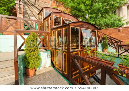 Funicular in Budapest Stock photo © Givaga