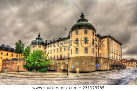 Wrangel Palace, Stockholm Stock photo © borisb17