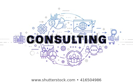 Business Consulting and Time Management Website Stock photo © robuart
