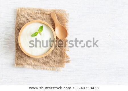 Lactobacillus probiotics on white Stock photo © evgeny89