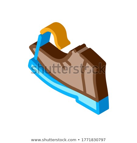 Torn Shoe Thread isometric icon vector illustration Stock photo © pikepicture