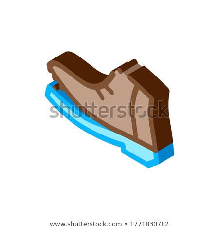 Shoe Torn Sole isometric icon vector illustration Stock photo © pikepicture