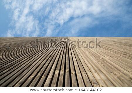 Verticaal muur ver grijs diep breed Stockfoto © bobkeenan