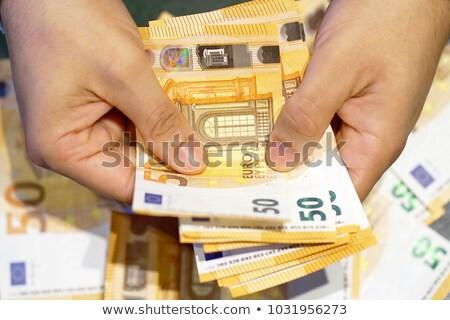 zakenman · bonus · kaart · salaris · ander - stockfoto © photography33