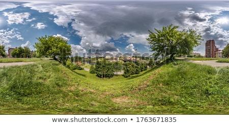 Spheric viewpoint Stock photo © samsem