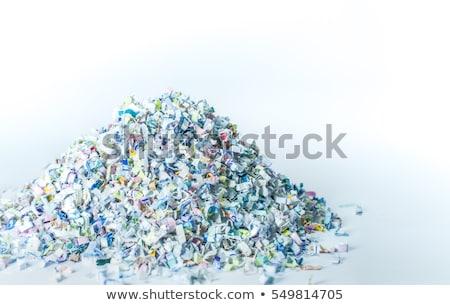 Shredder. On a white background. Stock photo © ozaiachin