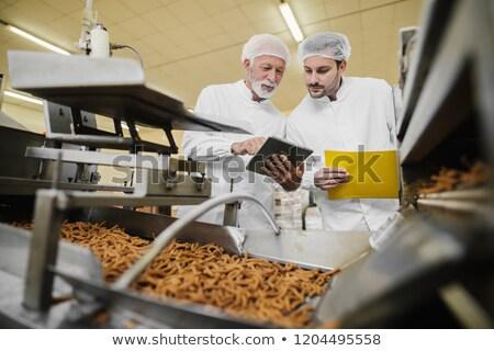 food health inspection stock photo © lightsource