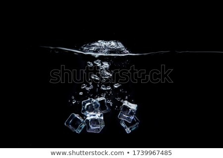 detalle · nieve · textura · oscuridad · paisaje · luz - foto stock © hraska